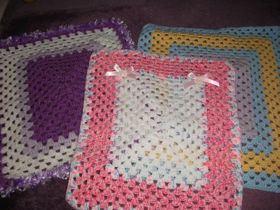 3 Dolls Blankets Crochet Creation By Mobilecrafts Crochetmunity