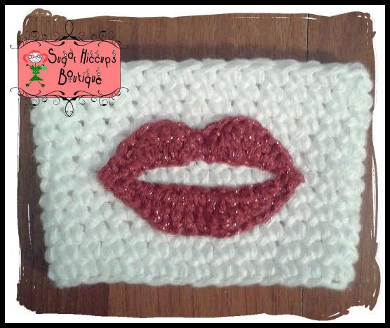 I Mustache You A Question Kissy Lips Crochet Lips And Mustache