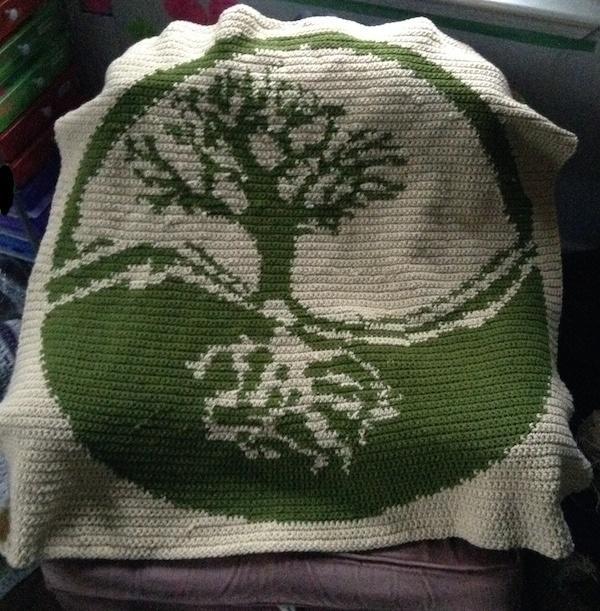 Intarsia Crochet Pattern Maker : Tree of Life