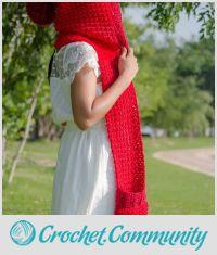 the red ridding hood pocket scarf