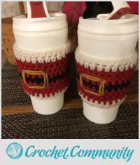 Santa Cup Cozy