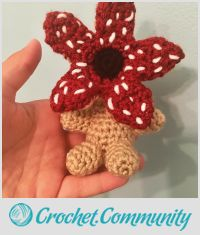 Handmade Crochet Demogorgon Amigurumi
