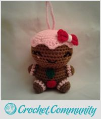 CHERRY the Gingerbread Girl