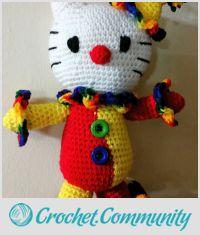 Hello Kitty Clown