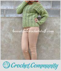 Crochet Sweater (Pullover) Free Pattern