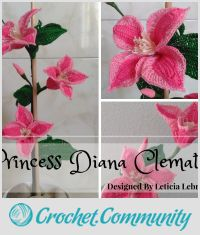Princess Diana Clematis Flower