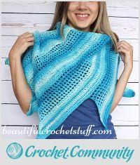 Crochet Baktus Scarf Free Pattern