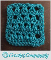 Coaster No. 1 (Stitches Week 2: Triangle Stitch