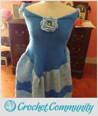 Della's Cinderella Blanket Dress