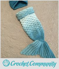 Newborn mermaid tail & turban
