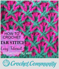 How to Crochet Star Stitch - Easy Tutorial