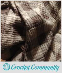 Mocha Gingham Blanket