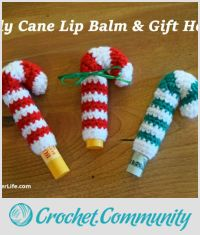 Candy Cane Lip Balm & Gift Holder