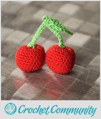 Cherry crochet +°+ Crochet Cerise