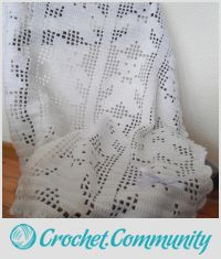 Crochet Baby Blanket, Teddy Bear Blanket, White Crochet Baby Blanket, Christening