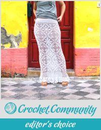 Crochet Maxi Skirt Pattern