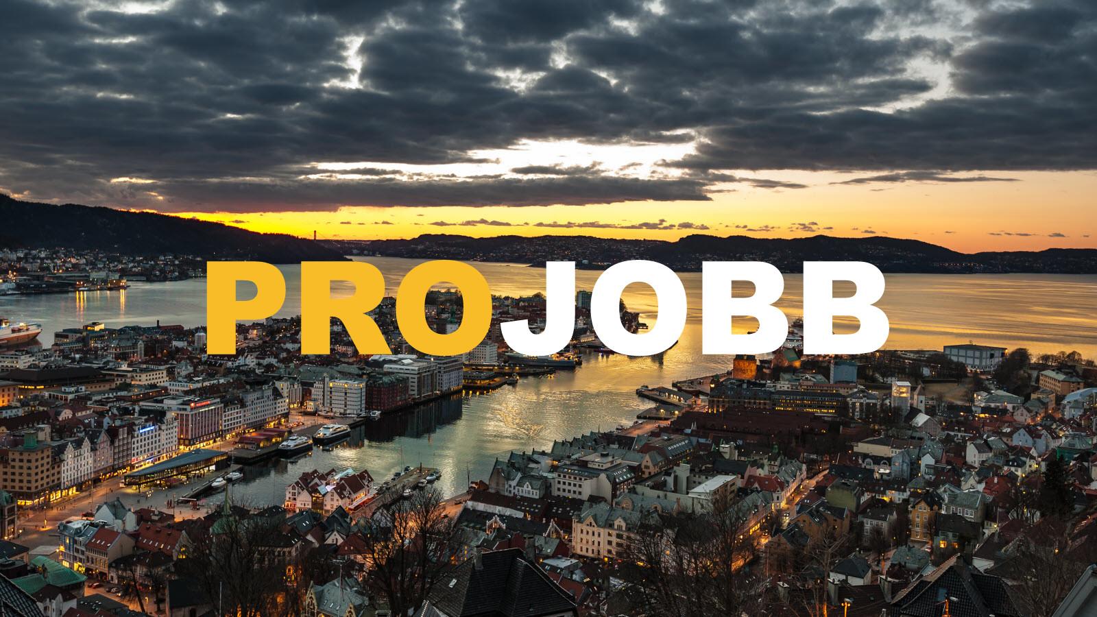 Vi bytter navn til PROJOBB og etablerer ny avdeling i Bergen