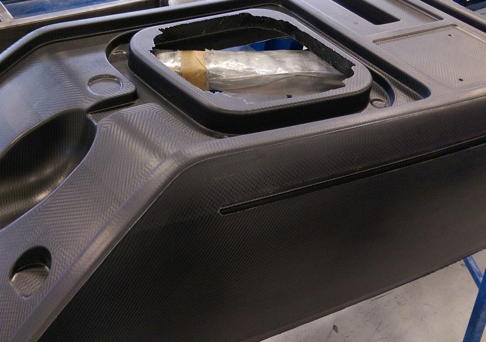 Pontoon Deck Moulding