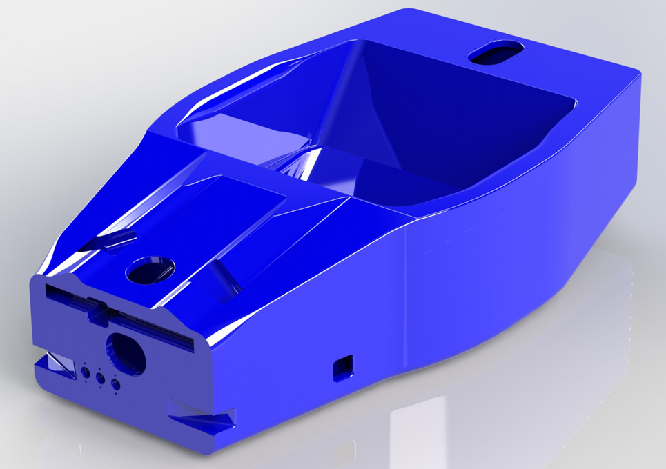 Ascari A410 LMP Sportscar Chassis 3D CAD Model