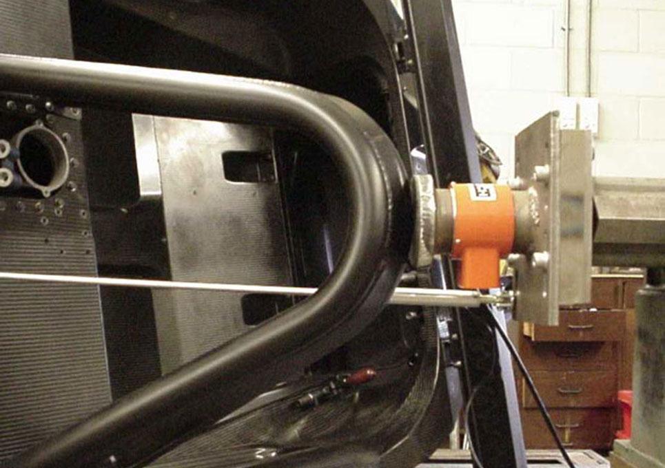 Ascari A410 LMP Chassis FIA Testing