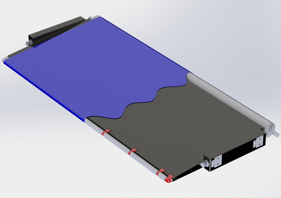 Industrial Composite Component 3D CAD Model