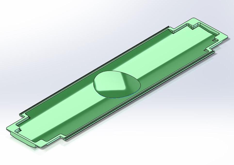 Carbon Fiber Carrier 3D CAD Model