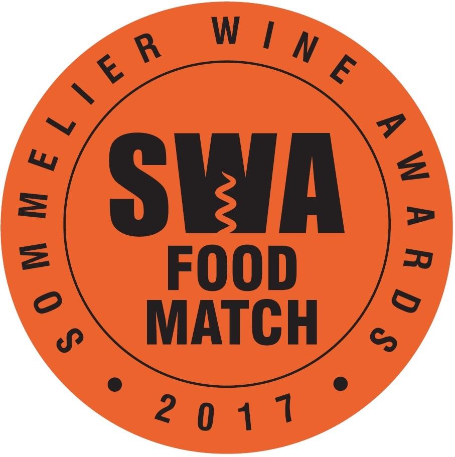 Sommelier Wine Awards Food Match Medal 2017