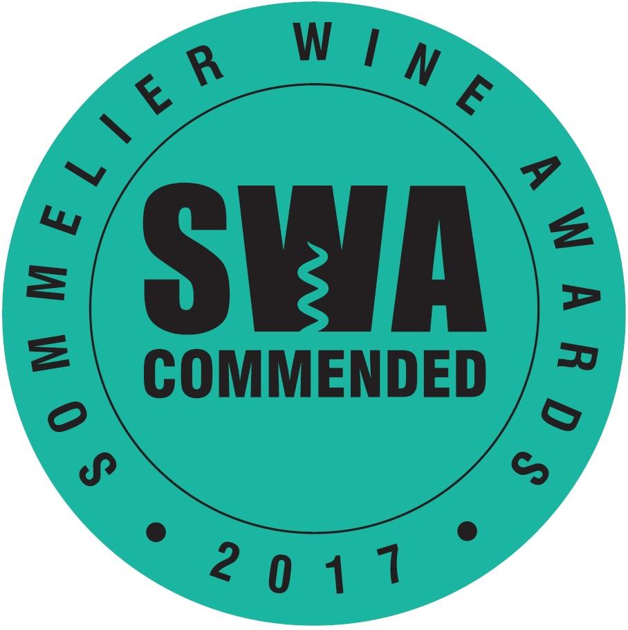 Sommellier Wine Award Commended 2017