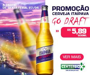 PROMOÇÃO CERVEJA ITAIPAVA GO DRAFT 600ml R$5,89
