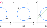 Matematika - Pembahasan Dan Contoh Soal Garis Singgung Lingkaran