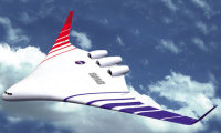 Proyek Fantastis Hybrid Wing Body by NASA