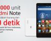 10000 unit Redmi Note Habis dalam 40 detik di Indo...