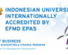 BINUS University Raih Akreditasi EFMD EPAS