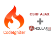 How to : Ajax CSRF Token in Codeigniter 3 and Angu...