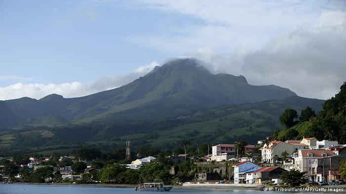 Gunung Pelee, Martinique Perancis