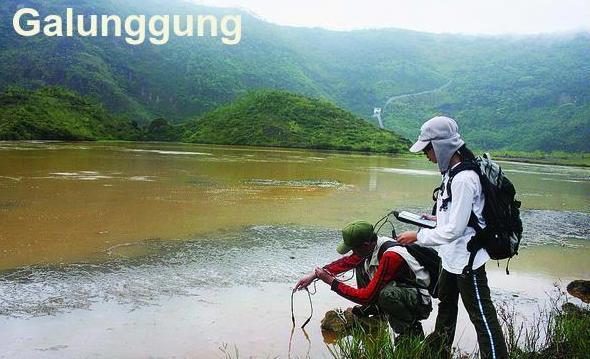 Galunggung, Indonesia