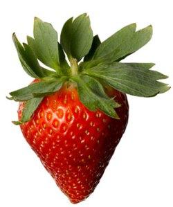 Maskeran pakai strawberry ? Bagus loh.