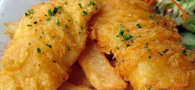 $25 Fish and Chips at Portofinos Restaurant Quinns Beach