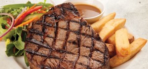 $15 Graziers Rump Steak at Balmoral Hotel
