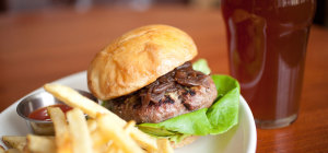$15 Burger & Pint at Franklins Tavern