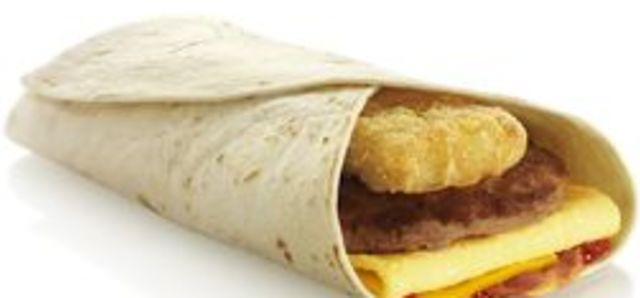 $6.90 Takeaway Breakkie Wrap at Gio's Restaurant