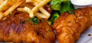 $11.95 Saturday fish & chips at Gallopers Sports Club