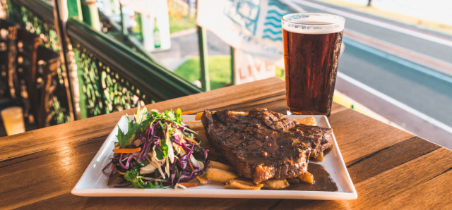 $17 Steak & Pint at The Left Bank
