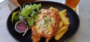 $18 The Poacher's Parmy at The Squires Fortune