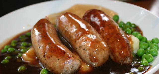 $10 Grilled Pork Sausage at UWA Club