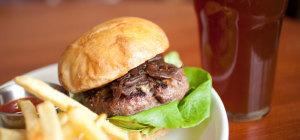 $19.90 Burger & Pint at Paddy Malone's