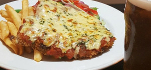 $15 Parmi and Pint $15 at Belvideres Bar and Bistro