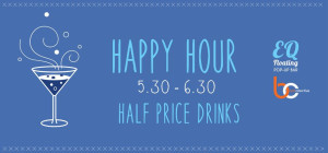 Happy Hour Half Price Drinks at Boat Collective