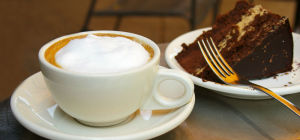 $7 Any Coffee & Cake at Decked Cafe & Bar