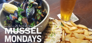 $15 Mussel Mondays at The Squires Fortune